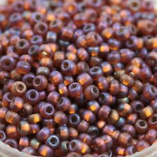 RARE!!! 6/0 Matte / Silver Lined Czech seed beads - 70 grams. Pick your color!