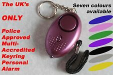 1 New 140db Personal Keyring Attack Panic Safety Security Rape Alarm with Torch