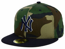 Official MLB New York Yankees Camo Team Pop New Era 59FIFTY Hat Fitted