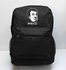 WWJCD JEREMY CLARKSON Backpack custom print COOL RAVE AUTHENTIC SCHOOL BOOK RACE