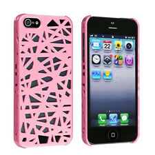 Bird Nest style Rear slim Snap on Hard cover case For Apple iPhone 5 5S 5G New