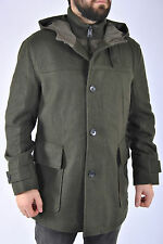Ben Sherman Wool Melton Duffle Coat Parka  XL Jacket Jacke Dk. Olive Military
