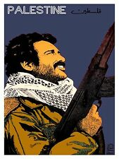 High Quality POSTER on Paper or Cotton Canvas.Palestinian.Political Art.4066