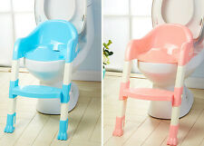 Toddler/Child Potty Training Ladder Toilet Loo Seat & Step