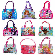 Disney Princess & Girls TV Character School Bowling Hand Cosmetic Bag New Gift