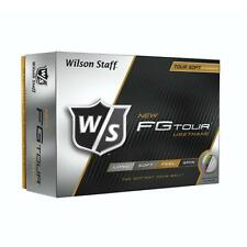 WILSON STAFF FG TOUR GOLF BALL - LONG / SOFT / FEEL / 4 PIECE FG TOUR GOLF BALLS