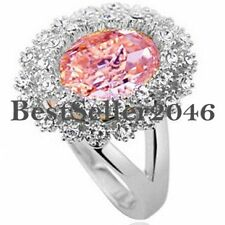 Colorful Oval Stone Valentine Love Anniversary Birthday Gift for Girlfriend