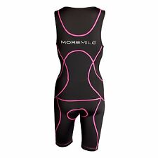 More Mile Sonic Ladies Womens  Padded Tri Suit Tritard Triathlon Duathlon Run