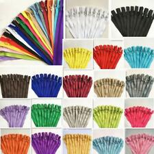 hot 10/50/100pcs Nylon Coil Zippers Tailor Sewer Craft 9 Inch Crafter's &FGDQRS