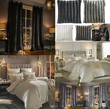 LUXURY 100% OFFICIAL KYLIE MINOGUE BEDROOM ACCESSORIES THICK HEAVY CURTAINS