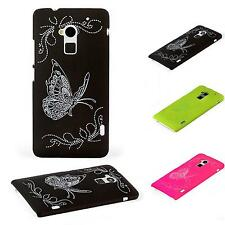 Trendy Butterfly Theme Hard Shell Cover Proof Case Heavy Impact Luxury Design