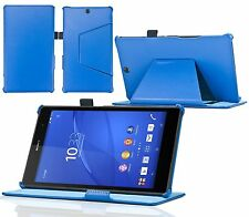 Stong-Hold Real Leather Case / Cover for the Sony Xperia Tablet Z3 8 inch Tablet