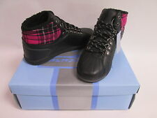 Mercury Trail Ladies Girls Ankle High Hi Top Fur Lined Boots Trainers Shoes