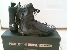 Under armour Brawler MC Football cleat Black / Black