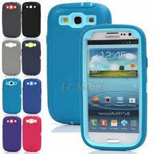 Heavy Duty Rugged Dual Layers Combo Defender Cases Cover for Samsung Galaxy S3