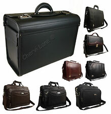 High Quality Ocello Business Executive Work Pilot Laptop Briefcase Satchel Bag