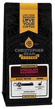 Christopher Bean Coffee CHOCOLATE RASPBERRY Flavored Coffee 1-12-Oz Bag