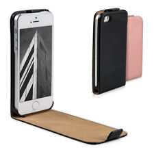 kwmobile SYNTHETIC LEATHER BAG FLIP STYLE FOR APPLE IPHONE SE 5 5S CASE POCKET