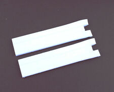 New White Rubber Diver Watch Band Strap For (Fit) Tissot (T076417A)