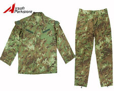 Military Special Force Army Tactical Combat BDU Uniform Shirt Pants Italian Camo