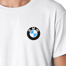 BMW M-Series Logo Embroidered Auto Car Motorcycle T-Shirt