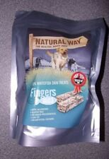 The Natural Way Fish Dog Treats Low Fat Omega 3 Hypo-Allergenic Gluten