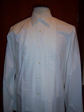Ivory Lay Down Collar Formal Tuxedo Shirt - most mens and boys sizes available