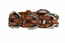 Good Works Make a Difference Lucky Woven Inspirational Bracelet  WAQV1464