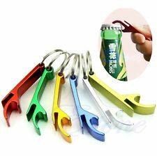 NEW Key Chain Aluminum Beer BOTTLE and CAN OPENER small beverage ring