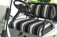 CLUB CAR DS 2000 up NO STAPLING 60 Colors/Patterns Golf Cart Seat & Back Covers