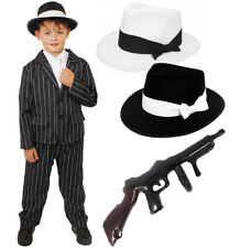CHILD GANGSTER COSTUME BOYS 1920'S FANCY DRESS THEATRE STAGE SHOW PRODUCTION