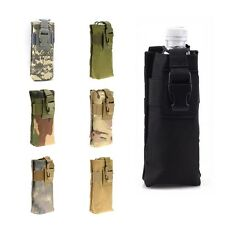 Tactical Army Molle Water Bottle Bag Combined Open Top Water Kettle Pouch Pack