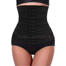 UK NEW BELLY BAND CORSET WAIST TRAINER CINCHER BODY SHAPER Elasticated Band Z13