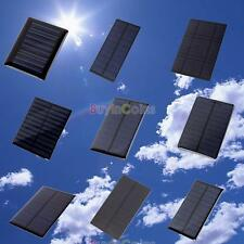 Universal 5V 0.2/0.5/1/1.2/1.5W Solar Panel Module for Cell Charger DIY