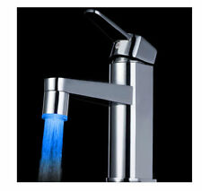 Good 3 Color Sensor LED Light Water Faucet Tap Temperature For kitchen/Bathroom