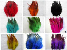 Wholesale Beautiful 50/100pcs natural rooster tail feathers 12-16cm / 5-7inch