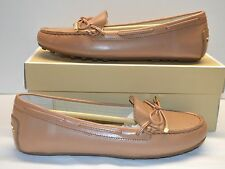 New $99 Michael Kors Daisy Moc Sunlight Tan Leather Loafer Flats Hard to Find