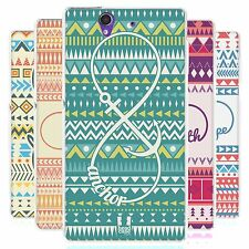 HEAD CASE INFINITY AZTEC SILICONE GEL CASE FOR SONY XPERIA Z C6603