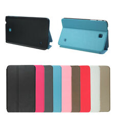Folio Stand Leather Case Cover For Samsung Galaxy Tab 4 8.0 8inch T330 A+