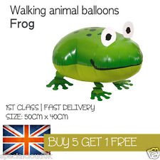 FROG WALKING PET BALLOON ANIMAL AIRWALKER BIRTHDAY KIDS FARM