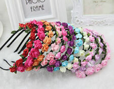 Boho Style Floral Flower Women Girls Hairband Headband Party bag Wedding UK Supp