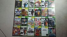 Large Microsoft Xbox 360 Game Lot - New & Used Games