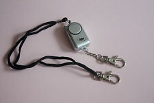 Personal Handbag Bag Purse Alarm with torch and captive pin + optional bell