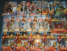 Marvel COMICS Avengers Chiffres: Hulk, Iron man, thor, captain america collectionneurs