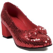 Ruby Slippers Dorothy Costume Shoes Adult Womens Wizard of Oz Fancy Dress
