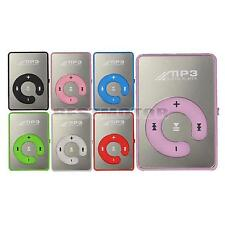 Mini Lecteur MP3 Media Player Clip écouteurs câble USB Micro SD TF Card 8 GB Go