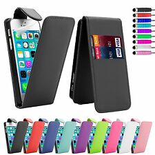 FLIP LEATHER CASE COVER FOR SAMSUNG GALAXY Various Mobile +SCREEN PROTECTOR