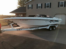 1996 Fountain Fever 27 Ft Offshore Powerboat Fresh 502 Eagle Trailer Clean L@@K