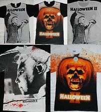 Halloween 2 Michael Myers Movie Front Only Sublimation Print T-Shirt