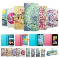Fashion Luxury Magnetic Wallet PU Leather Card Flip Stand Case Cover For Phones